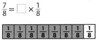 Envision Math Common Core 4th Grade Answer Key Topic 10 Extend Multiplication Concepts to Fractions 17