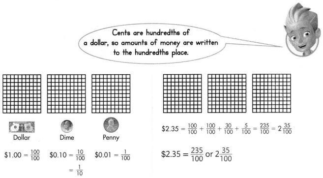 Envision Math Common Core 4th Grade Answer Key Topic 12 Understand and Compare Decimals 18
