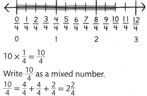 Envision Math Common Core 4th Grade Answers Topic 10 Extend Multiplication Concepts to Fractions 27