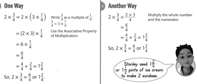 Envision Math Common Core 4th Grade Answers Topic 10 Extend Multiplication Concepts to Fractions 37