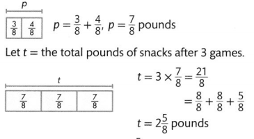 Envision Math Common Core 4th Grade Answers Topic 10 Extend Multiplication Concepts to Fractions 51