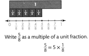 Envision Math Common Core 4th Grade Answers Topic 10 Extend Multiplication Concepts to Fractions 56