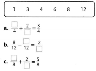 Envision Math Common Core 4th Grade Answers Topic 9 Understand Addition and Subtraction of Fractions 67