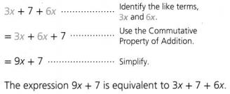 Envision Math Common Core 6th Grade Answer Key Topic 3 Numeric And Algebraic Expressions 99.9