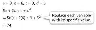 Envision Math Common Core 6th Grade Answers Topic 3 Numeric And Algebraic Expressions 53.4
