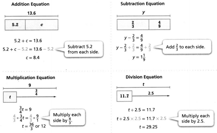 Envision Math Common Core 6th Grade Answers Topic 4 Represent And Solve Equations And Inequalities 33