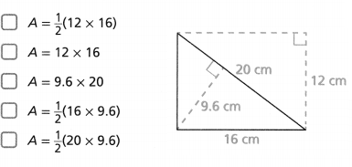Envision Math Common Core 6th Grade Answers Topic 7 Solve Area, Surface Area, And Volume Problems 49