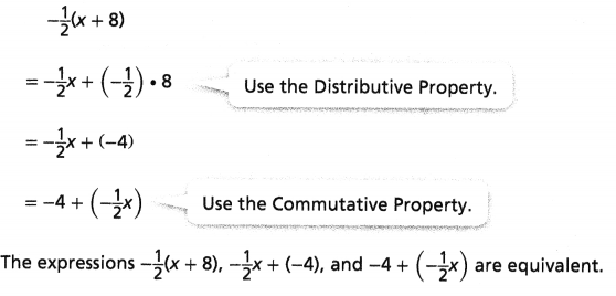 Envision Math Common Core 7th Grade Answer Key Topic 4 Generate Equivalent Expressions 16