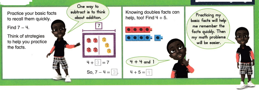 Envision Math Common Core Grade 2 Answer Key Topic 1 Fluently Add and Subtract Within 20 75
