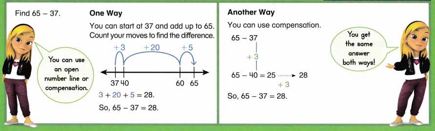 Envision Math Common Core Grade 2 Answer Key Topic 5 Subtract Within 100 Using Strategies 47