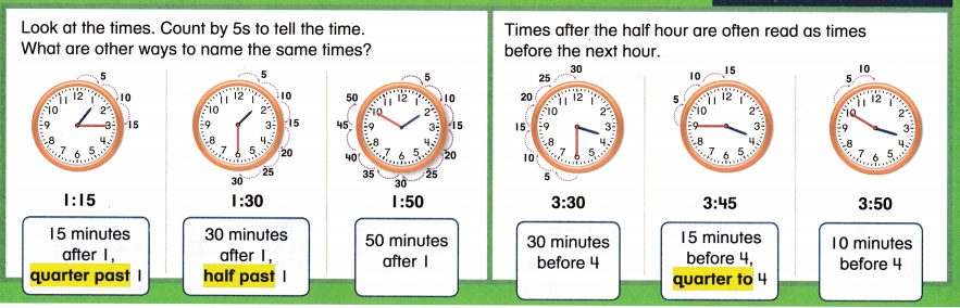 Envision Math Common Core Grade 2 Answer Key Topic 8 Work with Time and Money 61