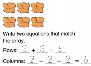 Envision Math Common Core Grade 2 Answers Topic 2 Work with Equal Groups 54