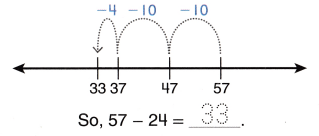 Envision Math Common Core Grade 2 Answers Topic 5 Subtract Within 100 Using Strategies 64