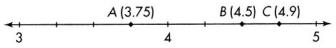 Envision Math Common Core Grade 4 Answer Key Topic 12 Understand and Compare Decimals 84