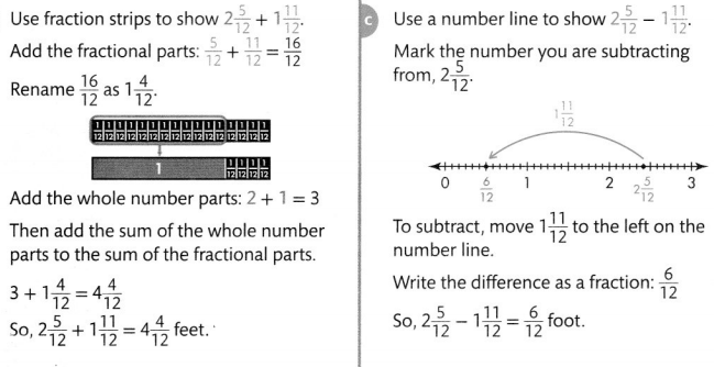 Envision Math Common Core Grade 4 Answer Key Topic 9 Understand Addition and Subtraction of Fractions 71