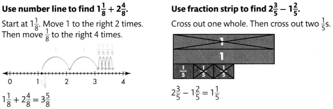 Envision Math Common Core Grade 4 Answer Key Topic 9 Understand Addition and Subtraction of Fractions 72