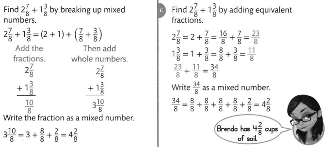 Envision Math Common Core Grade 4 Answer Key Topic 9 Understand Addition and Subtraction of Fractions 79
