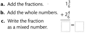 Envision Math Common Core Grade 4 Answer Key Topic 9 Understand Addition and Subtraction of Fractions 82