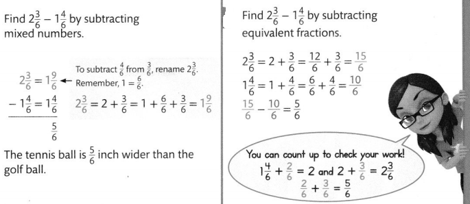 Envision Math Common Core Grade 4 Answer Key Topic 9 Understand Addition and Subtraction of Fractions 94