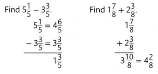 Envision Math Common Core Grade 4 Answers Topic 9 Understand Addition and Subtraction of Fractions 117