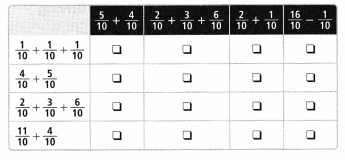 Envision Math Common Core Grade 4 Answers Topic 9 Understand Addition and Subtraction of Fractions 118