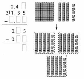 Envision Math Common Core Grade 5 Answer Key Topic 6 Use Model Strategies to Divide Decimals 30.7