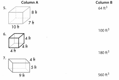 Envision Math Common Core Grade 5 Answers Topic 11 Understand Volume Concepts 52.1