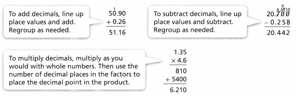 Envision Math Common Core Grade 6 Answer Key Topic 1 Use Positive Rational Numbers 3.2