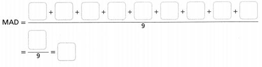Envision Math Common Core Grade 6 Answer Key Topic 8 Display, Describe, And Summarize Data 71