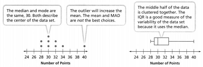 Envision Math Common Core Grade 6 Answer Key Topic 8 Display, Describe, And Summarize Data 72