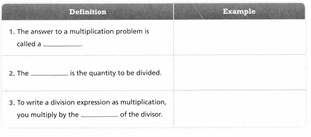Envision Math Common Core Grade 6 Answers Topic 1 Use Positive Rational Numbers 70.