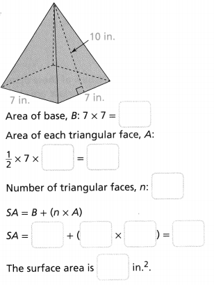 Envision Math Common Core Grade 6 Answers Topic 7 Solve Area, Surface Area, And Volume Problems 148
