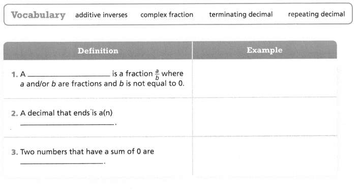Envision Math Common Core Grade 7 Answers Topic 1 Rational Number Operations 104