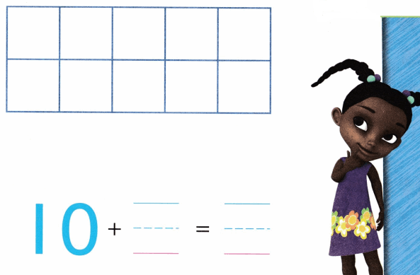 Envision Math Common Core Grade K Answer Key Topic 10 Compose and Decompose Numbers 11 to 19 2.1