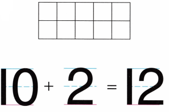 Envision Math Common Core Grade K Answer Key Topic 10 Compose and Decompose Numbers 11 to 19 2.6
