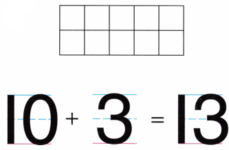 Envision Math Common Core Grade K Answer Key Topic 10 Compose and Decompose Numbers 11 to 19 2.7