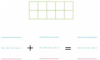 Envision Math Common Core Grade K Answer Key Topic 10 Compose and Decompose Numbers 11 to 19 2.8