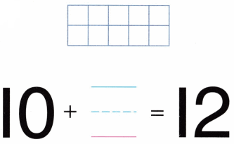 Envision Math Common Core Grade K Answer Key Topic 10 Compose and Decompose Numbers 11 to 19 3.1