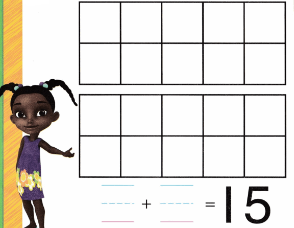 Envision Math Common Core Grade K Answer Key Topic 10 Compose and Decompose Numbers 11 to 19 3.3