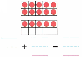 Envision Math Common Core Grade K Answer Key Topic 10 Compose and Decompose Numbers 11 to 19 3.6