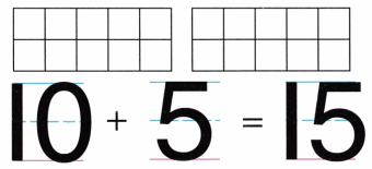 Envision Math Common Core Grade K Answer Key Topic 10 Compose and Decompose Numbers 11 to 19 3.9