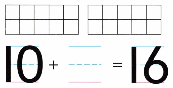 Envision Math Common Core Grade K Answer Key Topic 10 Compose and Decompose Numbers 11 to 19 4.4