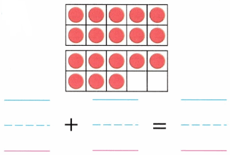 Envision Math Common Core Grade K Answer Key Topic 10 Compose and Decompose Numbers 11 to 19 4.9