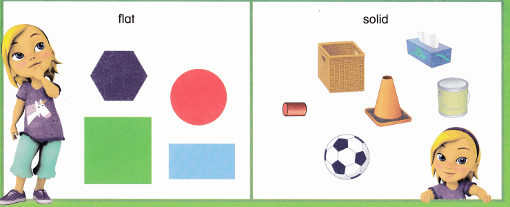 Envision Math Common Core Grade K Answer Key Topic 12 Identify and Describe Shapes 2.2