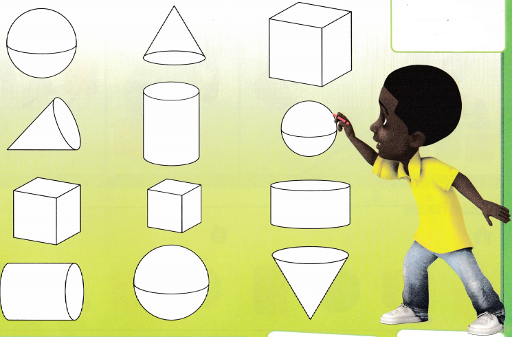 Envision Math Common Core Grade K Answer Key Topic 13 Analyze, Compare, and Create Shapes 20