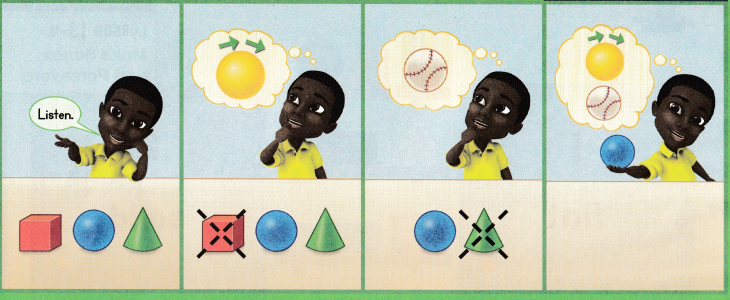 Envision Math Common Core Grade K Answer Key Topic 13 Analyze, Compare, and Create Shapes 45