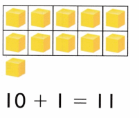 Envision Math Common Core Grade K Answers Topic 10 Compose and Decompose Numbers 11 to 19 11.1