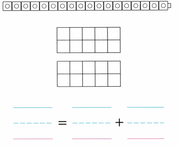 Envision Math Common Core Grade K Answers Topic 10 Compose and Decompose Numbers 11 to 19 12.1