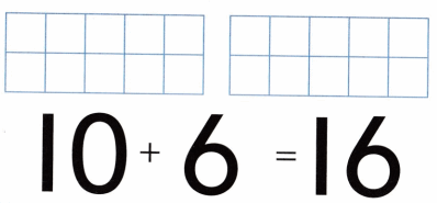 Envision Math Common Core Grade K Answers Topic 10 Compose and Decompose Numbers 11 to 19 20.3