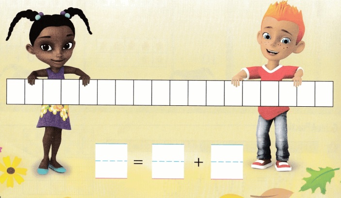 Envision Math Common Core Grade K Answers Topic 10 Compose and Decompose Numbers 11 to 19 7.2